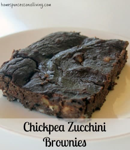 A gluten-free & healthy sweet treat made with maple syrup, chickpeas, and zucchini but tasty enough that no one would know all the good stuff hidden inside.