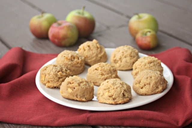 Gluten-free apple peanut butter cookies are full of flavor without using refined sugar and are a treat you can feel good about eating and serving.