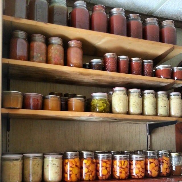 pantry shelves