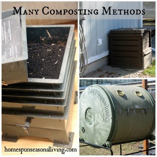 Many Composting Methods - Homespun Seasonal Living