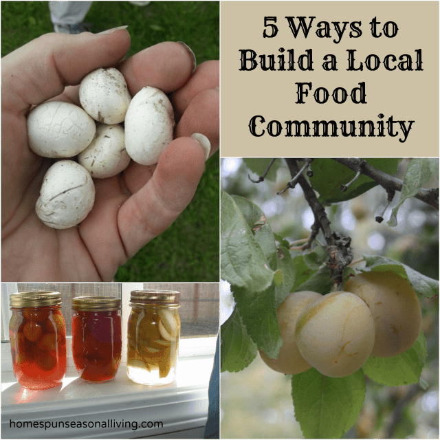 5 Ways to Build Local Food Community
