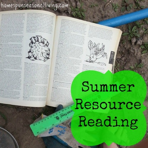 Summer Resource Reading - Homespun Seasonal Living