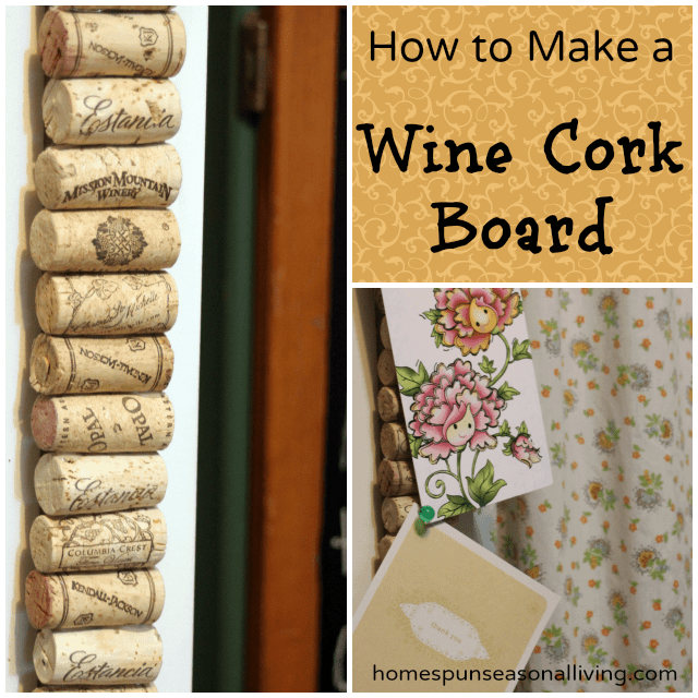 How to make a wine cork board for Making a cork board from wine corks