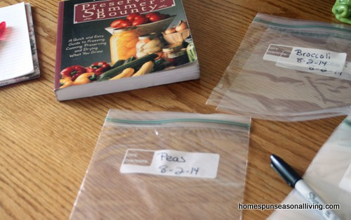 Streamline Vegetable Freezing - Homespun Seasonal Living