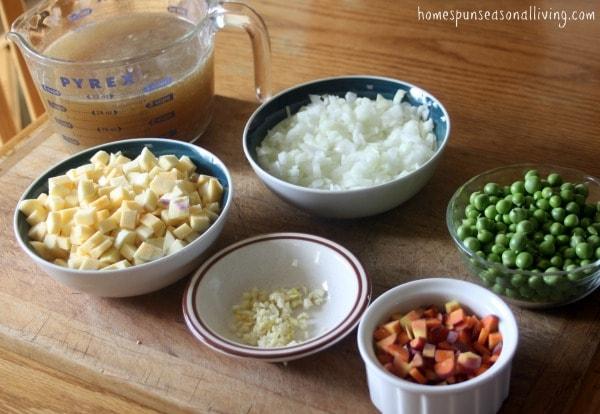 Rutabaga Pea Soup - Homespun Seasonal Living