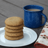 Chai Spice & Cream Drop Cookies