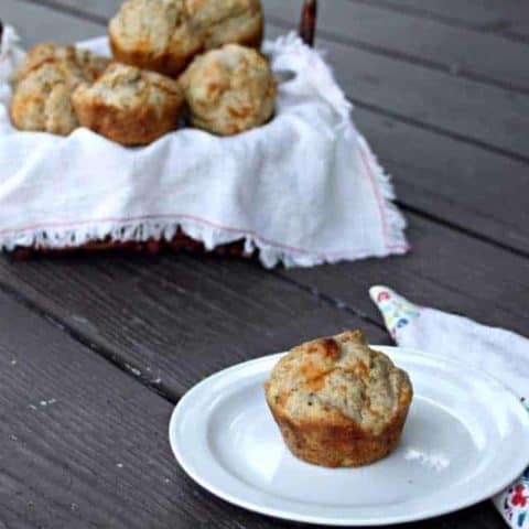Cheddar Caraway Muffins