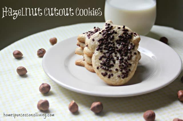 Hazelnut Cutout Cookies are a distinctive, tasty twist on sugar cookies.