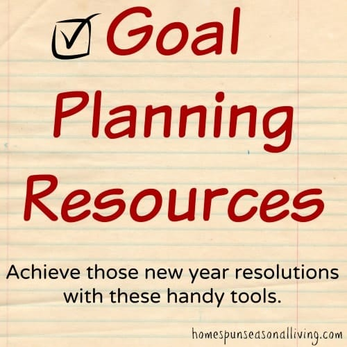 Goal Planning Resources