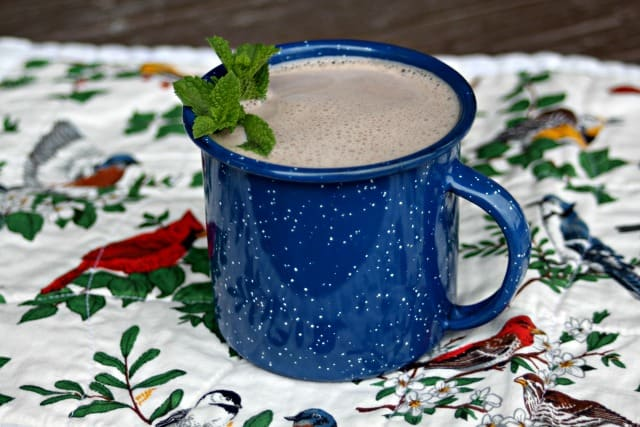Make the most of homegrown dried herbs by mixing up a batch of comforting herbal hot chocolate on a chilly night to comfort the body & soul.