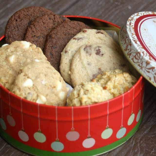 Create gift baskets full of love and joy by filling them with homemade Christmas cookies customized with flavors designed for everyone on your list.