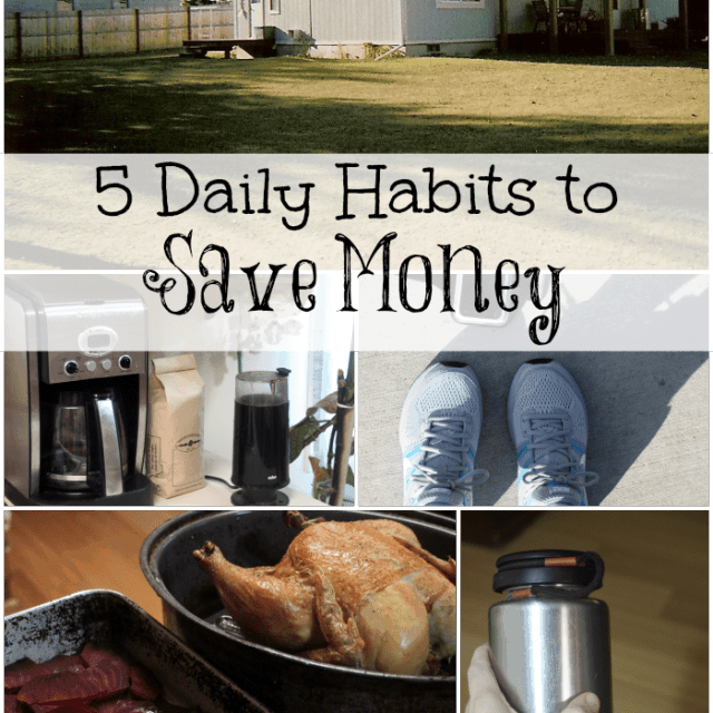Create a frugal routine with these 5 daily habits to save money over the long term.