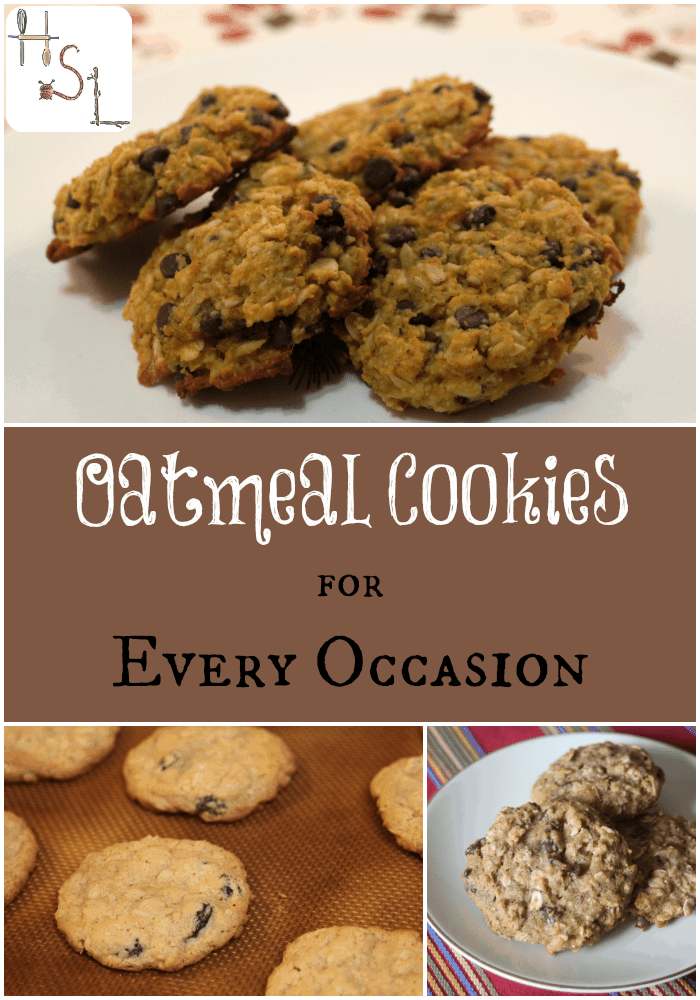 There are oatmeal cookies for every occasion and taste. Find inspiration here.
