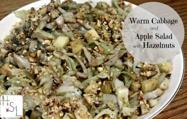 Warm Cabbage and Apple Salad with Hazelnuts | Homespun ...