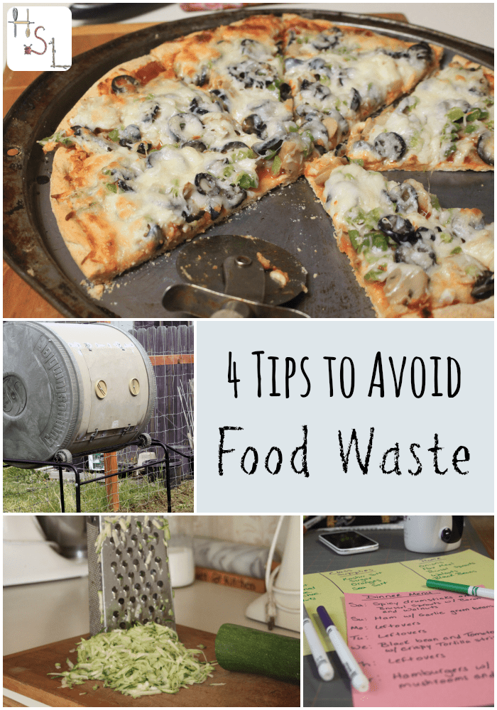 Save time and money with these 4 tips to avoid food waste.