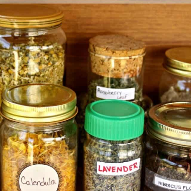 Use these 4 Steps to Organize the Herbal Medicine Cabinet to save time and money while preventing clutter and waste.