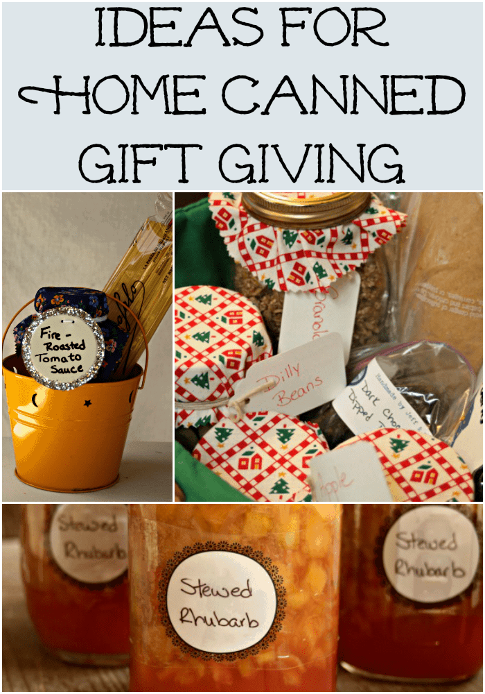 Home Canned Gift Giving