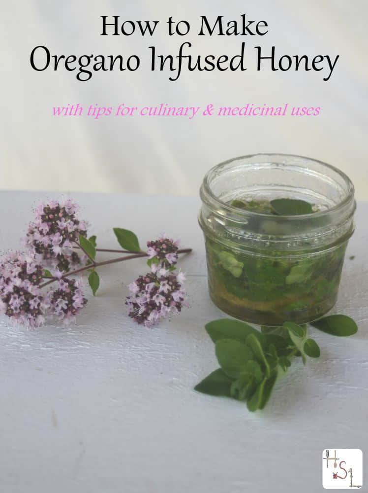 Learn how to make oregano infused honey as a way to save the herb for culinary and medicinal uses later.