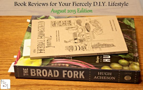 Book Reviews for Your Fiercely DIY Lifestyle | Homespun Seasonal Living