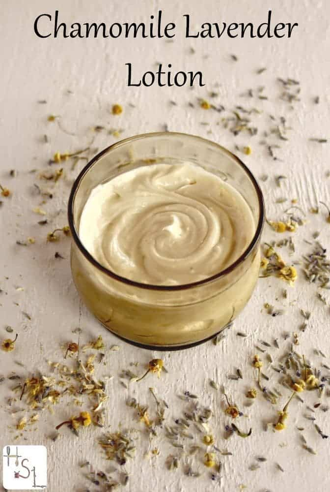 Chamomile Lavender Lotion