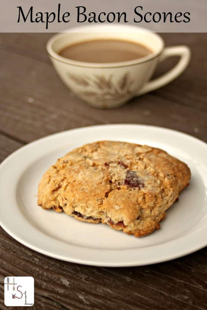 Whip up an impressive and easy breakfast with these maple bacon scones.