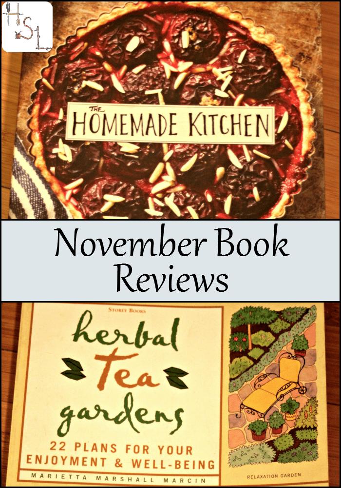 November Book Reviews | Homespun Seasonal Living