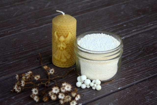 Enjoy a soothing and luxurious bath with these easy and frugal DIY milk bath salts full of healing and skin-softening properties.