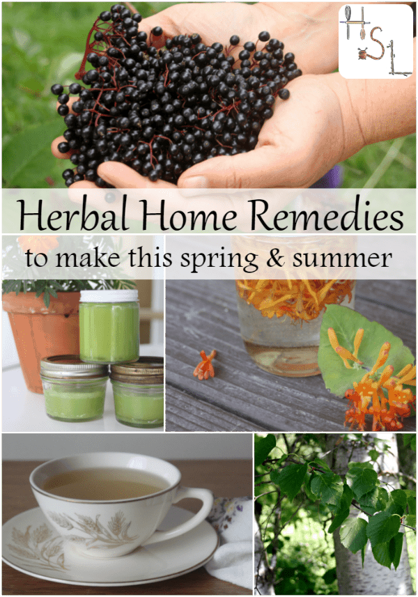 Make these herbal home remedies this spring and summer and be ready for whatever illness or malady comes your way throughout the year.