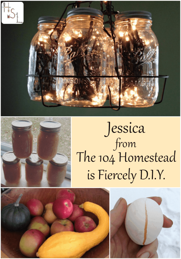 An interview with Jessica from The 104 Homestead about her Fiercely DIY habits.