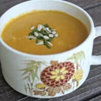 Spicy Carrot Sunflower Soup