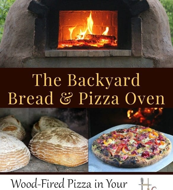 Enjoy wood fired pizza in your own backyard by building a cob oven with the easy to follow instructions in The Backyard Bread & Pizza Oven Ebook.