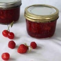 Brandied Cherry Berry Preserves