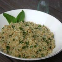 Mint and Calendula Quinoa Salad