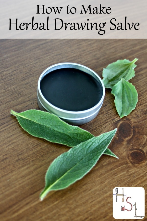 How to Make Herbal Drawing Salve