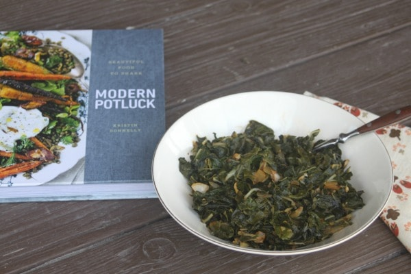 Take advantage of abundant, fresh, and hearty greens by cooking up large batches in this tomato braised chard dish that is perfect for potlucks and more.