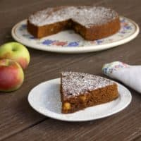 Apple Molasses Cake
