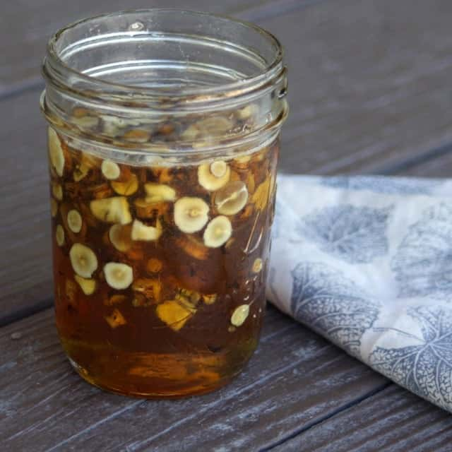 Dandelion Root Infused Honey