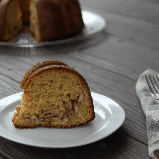Roasted Dandelion Root Coffee Cake