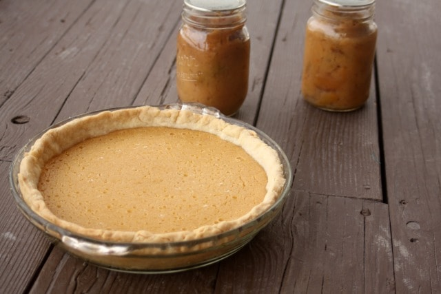 Forget running to the store for holiday pies learn how to use home preserved goods for pie filling instead that is both delicious and frugal.