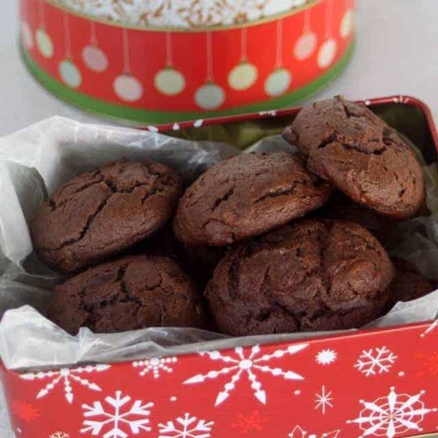Chocolate Cheesecake Cookies