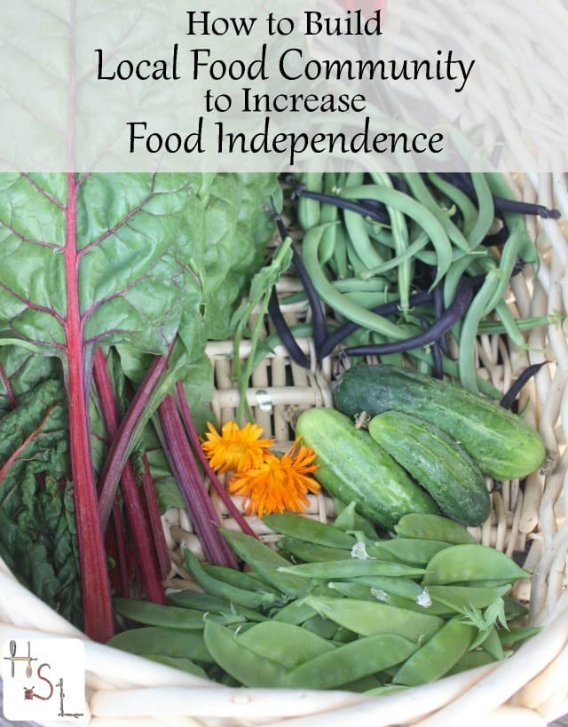 Increase food independence while also supporting neighbors, saving money, and eating delicious, seasonal food, by building a local food community.
