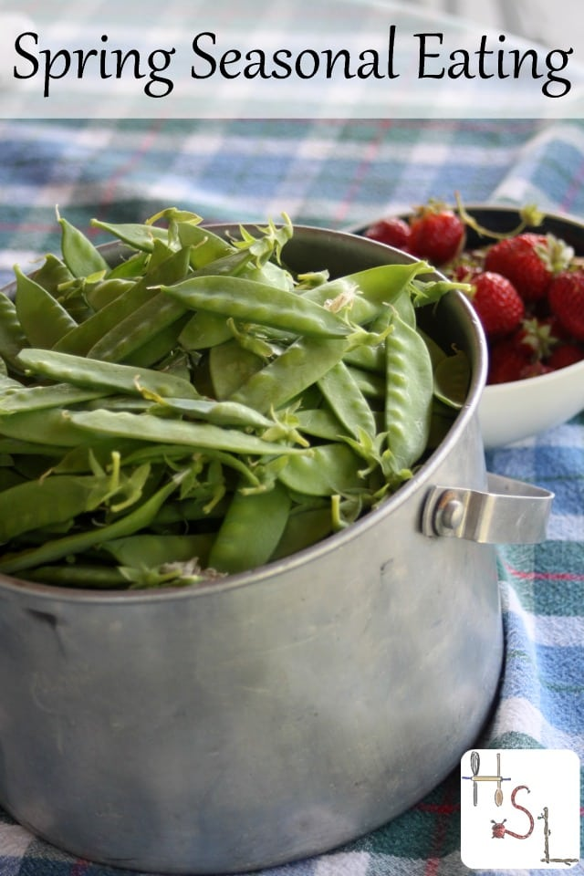 Take advantage of the abundance of the earth with these spring seasonal eating tips that make eating seasonally easy even in our rushed, modern lives.