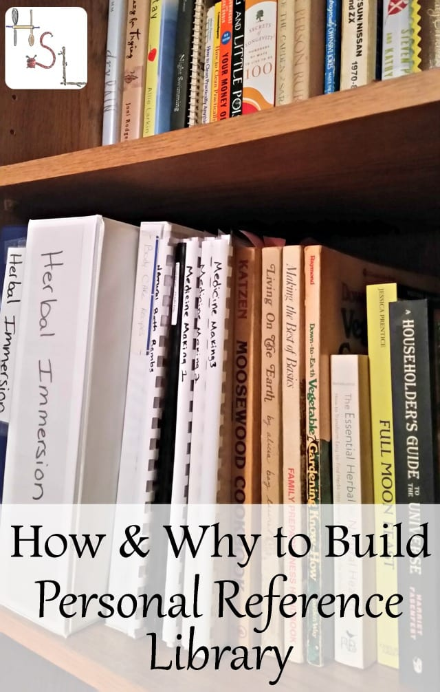 Build a personal reference library to answer questions, inspire new ways of thinking, and encourage growth in personal goals.
