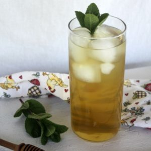 Herbal tea Italian sodas com are are lightly sweet, thirst quenching, and even healing beverage that is easy to make at home.