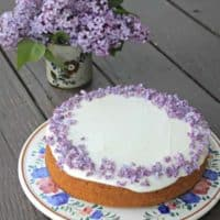 Lilac Honey Cake