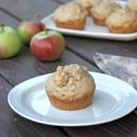 Apple Hazelnut Muffins