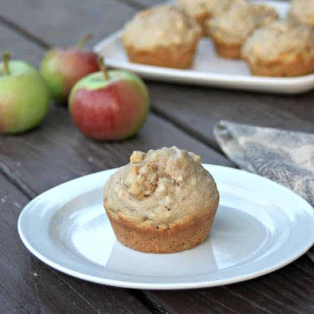 Apple Hazelnut Muffins