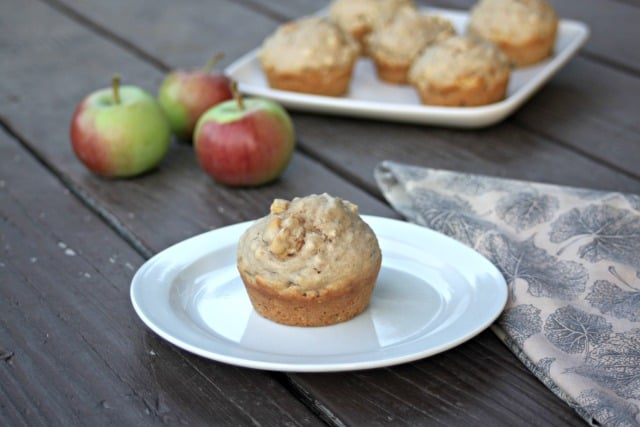 Make the most of fall produce with a quick and flavorful breakfast that's easy to grab on the go with these Apple Hazelnut Muffins.