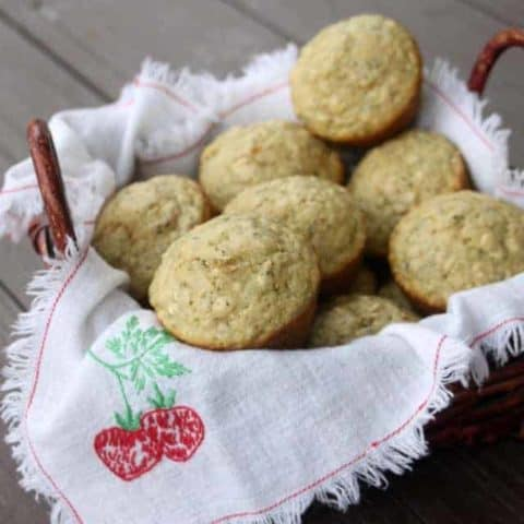 Hemp Heart Oat Muffins