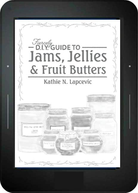 Cover of jams book on the screen of an ereader.